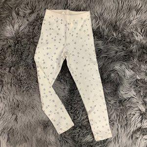 Toughskins | Girl's Leggings With Stars | White